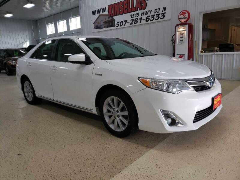 2013 Toyota Camry Hybrid for sale at Kinsellas Auto Sales in Rochester MN