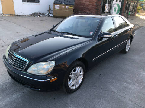 2003 Mercedes-Benz S-Class for sale at Finish Line Motors in Tulsa OK