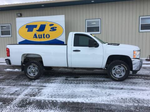 2013 Chevrolet Silverado 2500HD for sale at TJ's Auto in Wisconsin Rapids WI