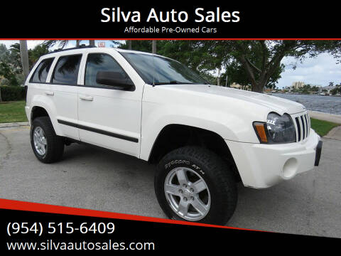 2007 Jeep Grand Cherokee for sale at Silva Auto Sales in Pompano Beach FL