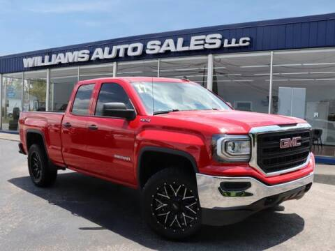 2017 GMC Sierra 1500 for sale at Williams Auto Sales, LLC in Cookeville TN