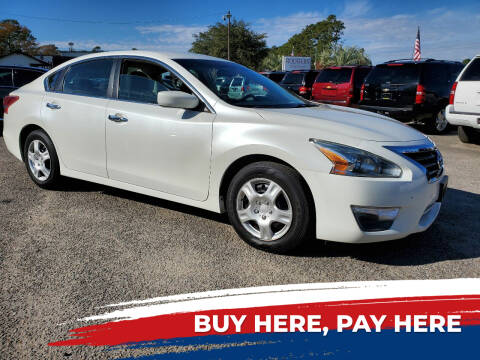 2013 Nissan Altima for sale at Rodgers Enterprises in North Charleston SC