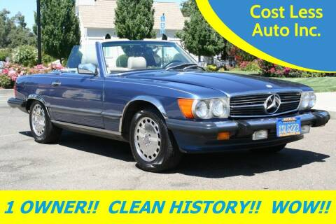 1986 Mercedes-Benz 560-Class for sale at Cost Less Auto Inc. in Rocklin CA