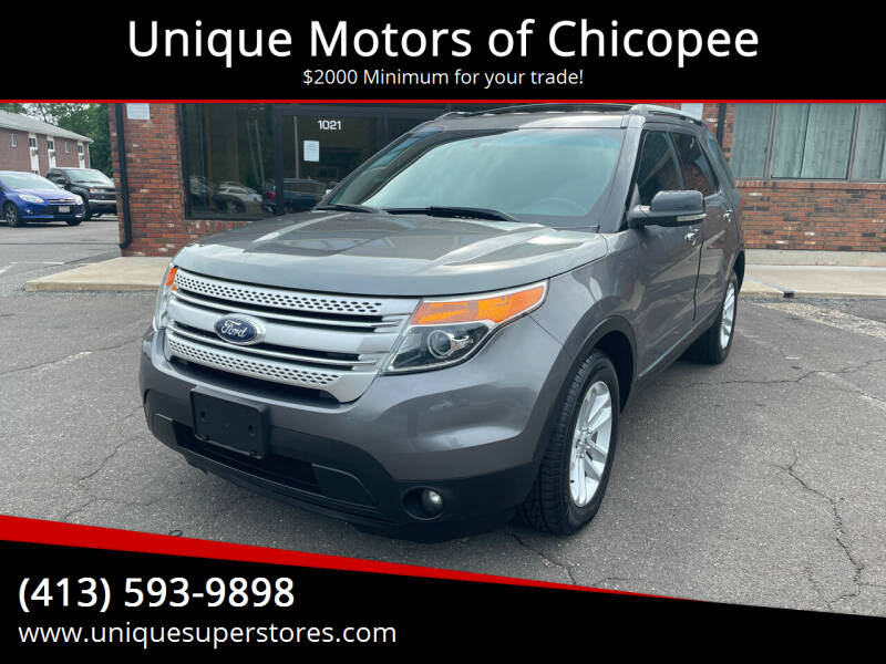 2013 Ford Explorer for sale at Unique Motors of Chicopee in Chicopee MA