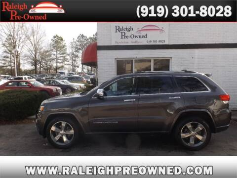 2015 Jeep Grand Cherokee for sale at Raleigh Pre-Owned in Raleigh NC