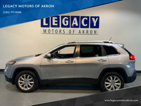 2014 Jeep Cherokee for sale at LEGACY MOTORS OF AKRON in Akron OH