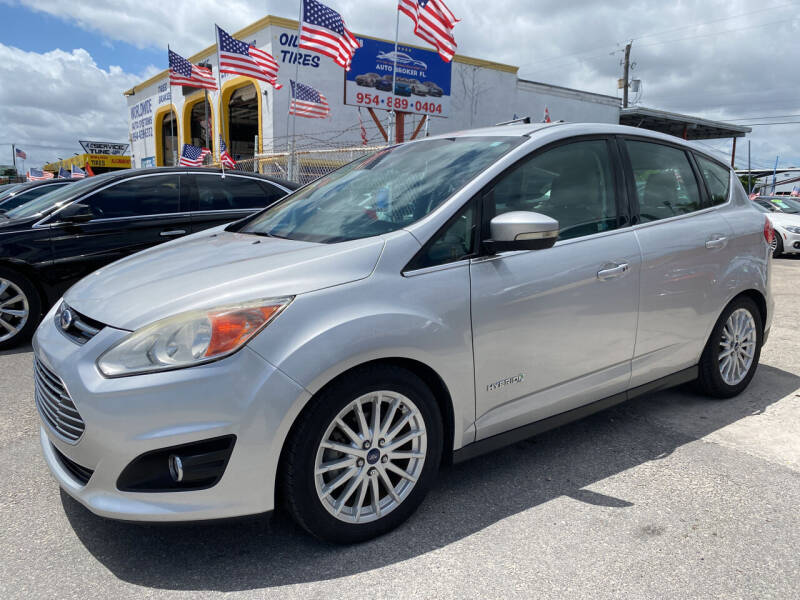 2013 Ford C-MAX Hybrid for sale at INTERNATIONAL AUTO BROKERS INC in Hollywood FL