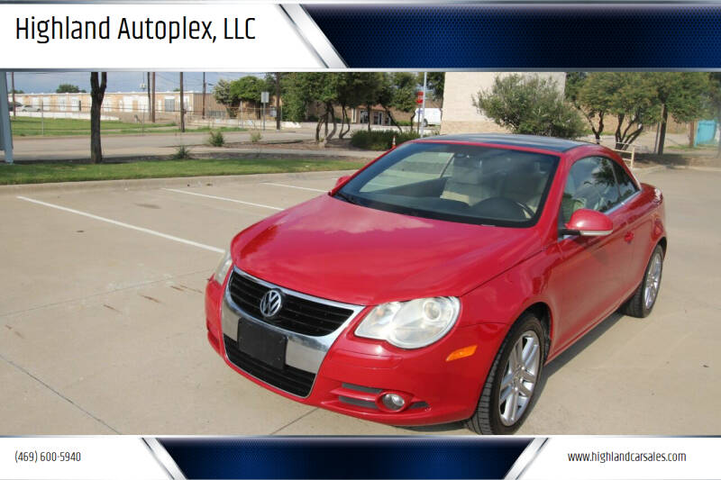 2008 Volkswagen Eos for sale at Highland Autoplex, LLC in Dallas TX