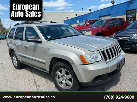 2008 Jeep Grand Cherokee for sale at European Auto Sales in Bridgeview IL