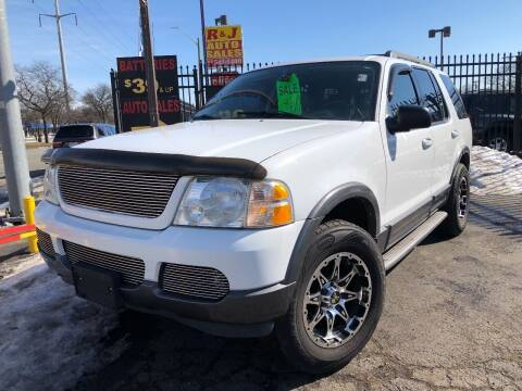 2005 Ford Explorer for sale at RJ AUTO SALES in Detroit MI