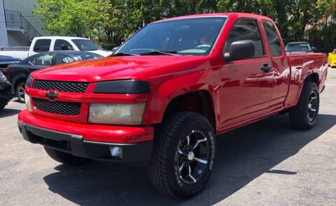 2006 Chevrolet Colorado for sale at Meru Motors in Hollywood FL