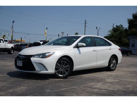 2017 Toyota Camry for sale at Maroney Auto Sales in Humble TX
