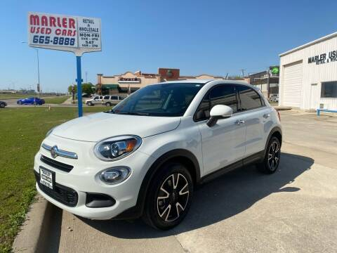2017 FIAT 500X for sale at MARLER USED CARS in Gainesville TX