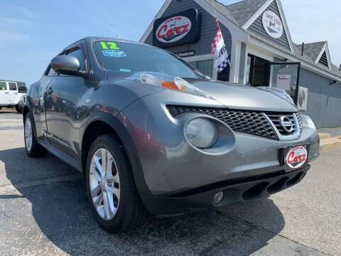 2012 Nissan JUKE for sale at Cape Cod Carz in Hyannis MA