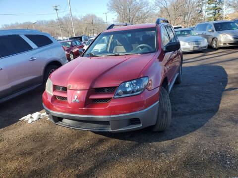 2003 Mitsubishi Outlander for sale at ASAP AUTO SALES in Muskegon MI
