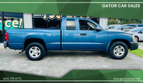 2005 Dodge Dakota for sale at Gator Car Sales in Picayune MS