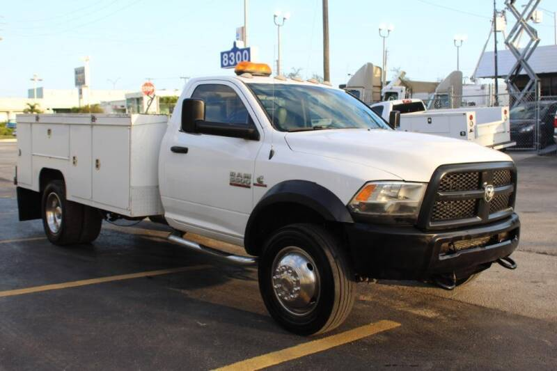 2014 RAM Ram Chassis 5500 for sale at Truck and Van Outlet - All Inventory in Hollywood FL