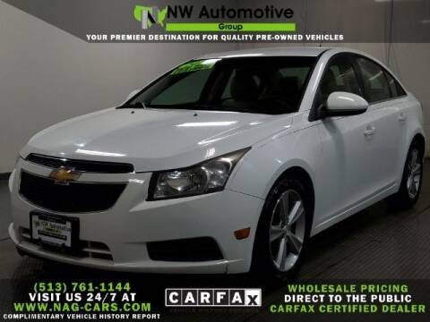 2012 Chevrolet Cruze for sale at NW Automotive Group in Cincinnati OH