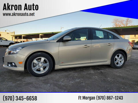 2011 Chevrolet Cruze for sale at Akron Auto in Akron CO