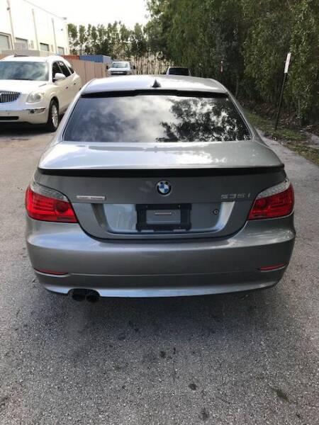 2008 BMW 5 Series 535i 4dr Sedan Luxury - Deerfield Beach FL