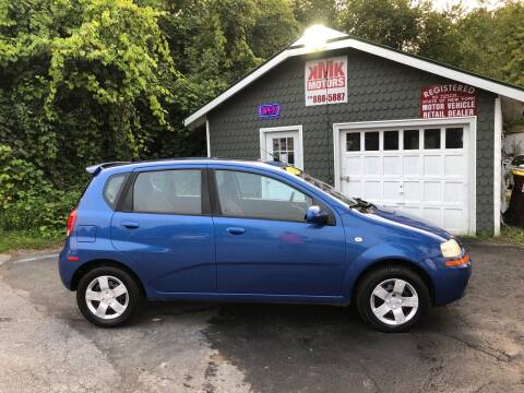 2006 Chevrolet Aveo for sale at KMK Motors in Latham NY