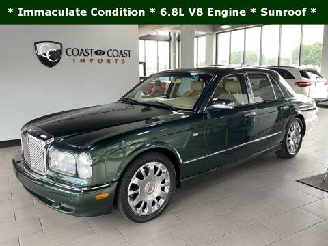 2004 Bentley Arnage for sale at Coast to Coast Imports in Fishers IN