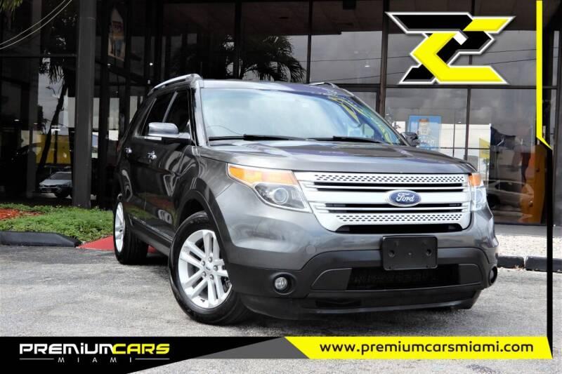 2015 Ford Explorer for sale at Premium Cars of Miami in Miami FL
