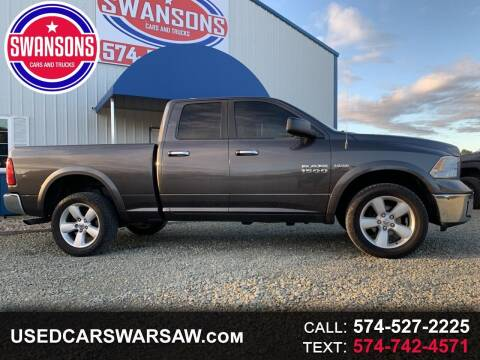 2014 RAM Ram Pickup 1500 for sale at Swanson's Cars and Trucks in Warsaw IN