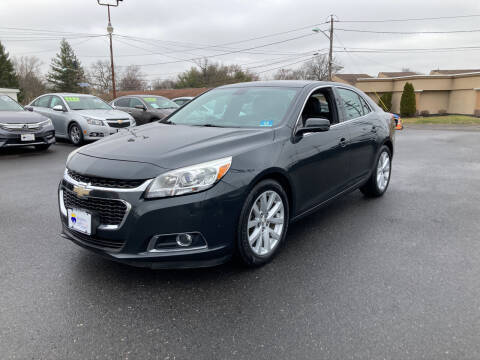 2015 Chevrolet Malibu for sale at Majestic Automotive Group in Cinnaminson NJ