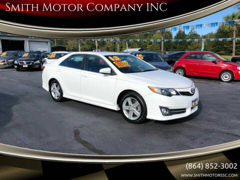 2013 Toyota Camry for sale at Smith Motor Company INC in Mc Cormick SC
