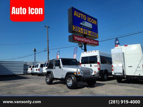 2006 Jeep Wrangler for sale at Auto Icon in Houston TX