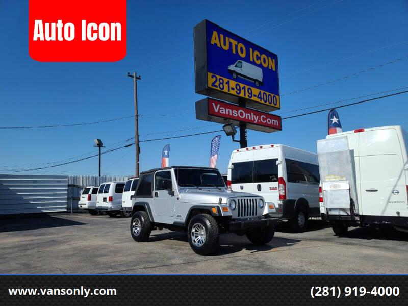 2006 Jeep Wrangler for sale at Auto Icon in Houston TX