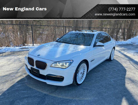 2013 BMW 7 Series for sale at New England Cars in Attleboro MA