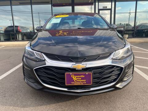 2019 Chevrolet Cruze for sale at Greenville Motor Company in Greenville NC