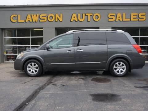 2007 Nissan Quest for sale at Clawson Auto Sales in Clawson MI