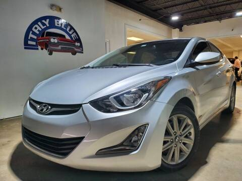 2014 Hyundai Elantra for sale at Italy Blue Auto Sales llc in Miami FL