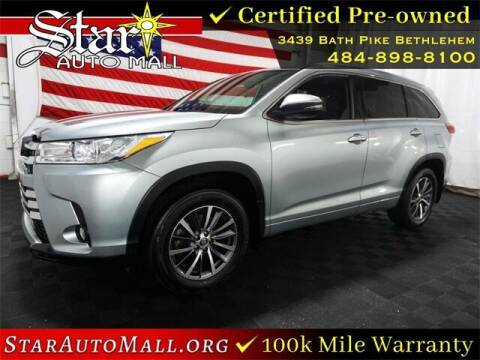 2018 Toyota Highlander for sale at STAR AUTO MALL 512 in Bethlehem PA