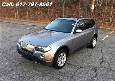 2008 BMW X3 for sale at Wheeler Dealer Inc. in Acton MA