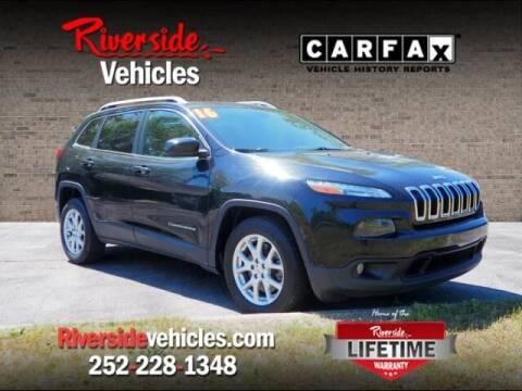2016 Jeep Cherokee for sale at Riverside Mitsubishi(New Bern Auto Mart) in New Bern NC