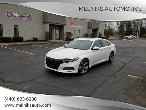 2018 Honda Accord for sale at Melniks Automotive in Berea OH