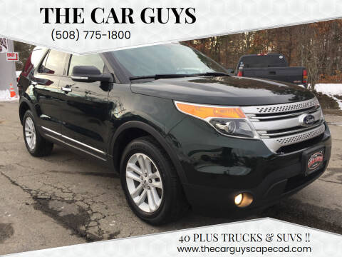 2013 Ford Explorer for sale at The Car Guys in Hyannis MA