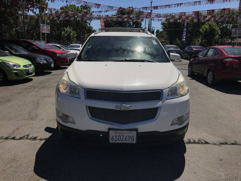 2012 Chevrolet Traverse for sale at EXPRESS CREDIT MOTORS in San Jose CA
