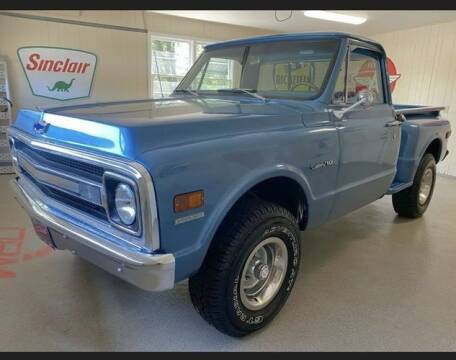 1970 Chevrolet C/K 10 Series for sale at Classic Car Deals in Cadillac MI
