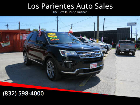 2018 Ford Explorer for sale at Los Parientes Auto Sales in Houston TX
