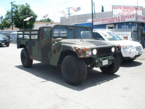 2009 AM General Hummer for sale at AUTO WHOLESALE OUTLET in North Hollywood CA