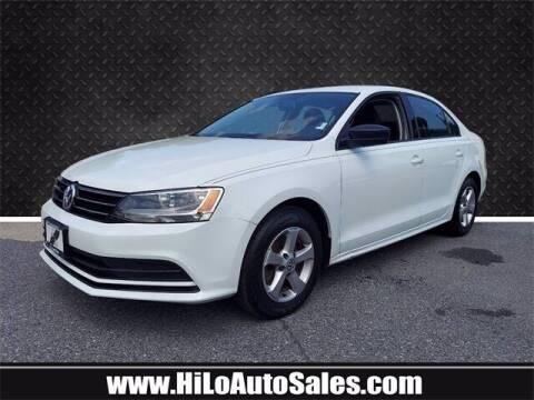 2016 Volkswagen Jetta for sale at Hi-Lo Auto Sales in Frederick MD