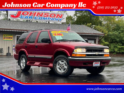 2000 Chevrolet Blazer for sale at Johnson Car Company llc in Crown Point IN