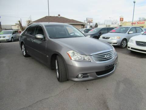 2008 Infiniti M45 for sale at Crown Auto in South Salt Lake City UT