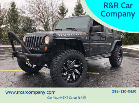 2008 Jeep Wrangler Unlimited for sale at R&R Car Company in Mount Clemens MI