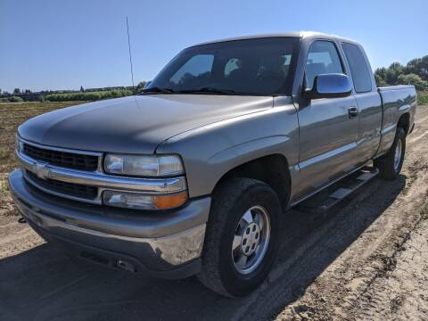 2000 Chevrolet Silverado 1500 for sale at M AND S CAR SALES LLC in Independence OR